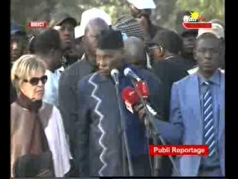 seneweb.com/l'Intégralité Du Discours De Me Abdoulaye Wade hier A La Place de l'Obelisque