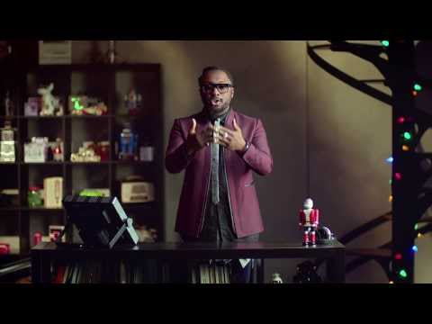 Will.i.am's box wrap: Christmas 2013 - BBC One