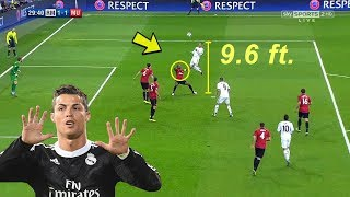 10 Impossible Things That Only Cristiano Ronaldo Did In Football HD