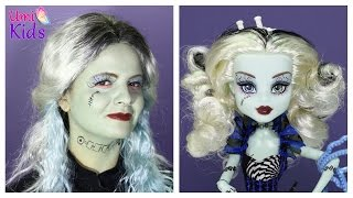 getlinkyoutube.com-Monster High Mastır Hay Frankie Stein Makyajı Evcilik TV ile - UmiKids