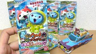 getlinkyoutube.com-妖怪ウォッチ とりつきカードバトル「妖魔界ビッグウェーブ」10パック開封!!  Yo-kai Watch