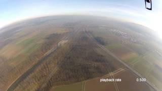 getlinkyoutube.com-Go Pro and Parrot AR.Drone fly away very high