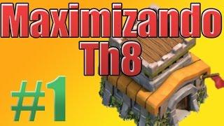 getlinkyoutube.com-Clash of Clans  [A algunos minutos de subir al Ayunte 8]   Maximizando TH8