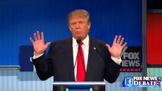 getlinkyoutube.com-Donald Trump and Megyn Kelly go back and forth at the Fox News GOP debate