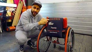 getlinkyoutube.com-Wheelchair Customised for GB Paraclimbing Champion Hannah Baldwin