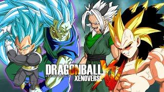 getlinkyoutube.com-SSGSS3 Goku & SSGSS Vegeta VS Xicor & Rigor | Dragon Ball Xenoverse MODS (Duels)