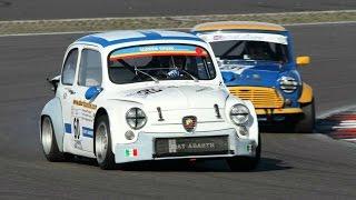 getlinkyoutube.com-Kampf der Zwerge 2014 - Highlights Nürburgring 2 - Race 1 - NSU TT, Fiat Abarth, Mini Cooper