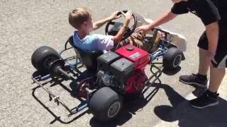 getlinkyoutube.com-9HP GO KART PROJECT