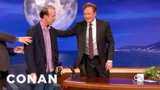getlinkyoutube.com-Conan Thanks Writer Brian McCann On His Last Day - CONAN on TBS