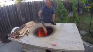 getlinkyoutube.com-Armenian Tonir BBQ