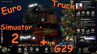 getlinkyoutube.com-Live Euro Truck Simulator 2 + Logitech G29