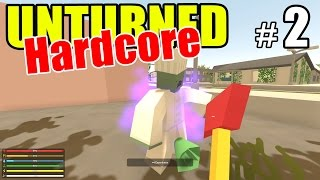 getlinkyoutube.com-Unturned - Crazy HARD MODE Survival! - Episode 2 (Overgrown 3+ Map)