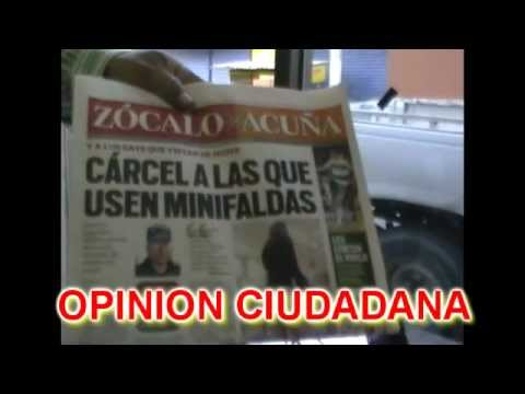 NOTICIERO SABADO 23 OPINION MUJERES