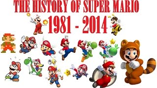 getlinkyoutube.com-The History Of Super Mario ( 1981 - 2014 )
