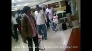 getlinkyoutube.com-Super Star Rajini at Chennai Airport