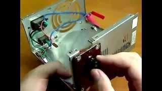 getlinkyoutube.com-Дуговая сварка из микроволновки