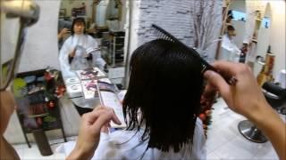 getlinkyoutube.com-【warphair森泉】ばっさり女子のインナーカラーはストロベリーレッド!