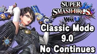 getlinkyoutube.com-Super Smash Bros. For Wii U (Classic Mode 9.0 No Continues | Bayonetta) 60fps