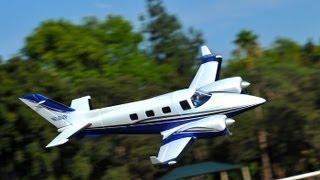 B60 Duke Twin Engine Plane Review