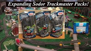 getlinkyoutube.com-Thomas & Friends Toy Trains-Trackmaster Track Packs!