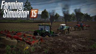 getlinkyoutube.com-Let's Play Farming Simulator 2015 #37 Talerzowanie po rzepaku oraz wtopy