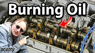 Fixing An Oil Burning Engine For 10 Bucks
