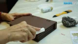 getlinkyoutube.com-Ahşap boyamada eskitme tekniği nasıl yapılır?