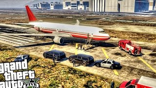 getlinkyoutube.com-Plane Bomb Threat - GTA 5 PC MOD