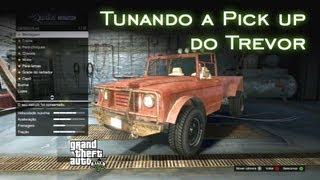 getlinkyoutube.com-Tunando a Pick up do Trevor | GTA V [PT-BR]