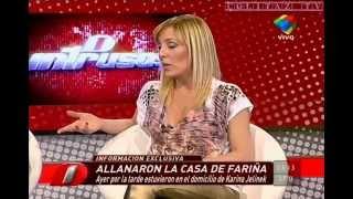 getlinkyoutube.com-Cora Debarbieri terribles calzas doradas vueltita Intrusos - Colitaz