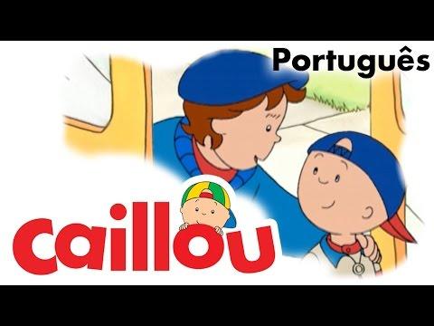 CAILLOU PORTUGUÊS - Caillou e o ônibus escolar (S01E42)