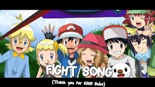 getlinkyoutube.com-☆FIGHT S0NG // Ash~Serena~Clemont~Bonnie~Alain~Mairin☆ [6000 Subs Special]