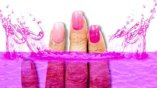 getlinkyoutube.com-PINK ADDICTION/DIY NAILS | LESSLIE MUSAS LOS POLINESIOS