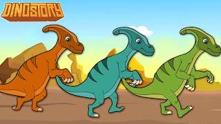 Parasaurolophus - Dinosaur Songs from Dinostory by Howdytoons