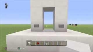 getlinkyoutube.com-【ゆっくり実況】マインクラフト 透明のドア!!!【マイクラPS4・PS3共通】