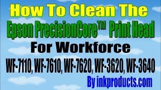getlinkyoutube.com-How to remove the Epson WF 7610, WF 3640, WF 7620, WF 3620, WF 7110 Print Head