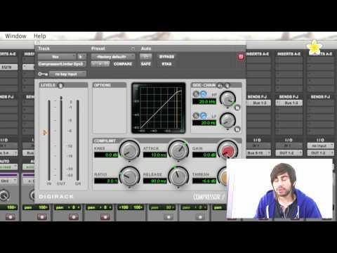 Compressing Vocals - Pro Tools 9