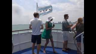 getlinkyoutube.com-Windy Cruise on Lake Michigan