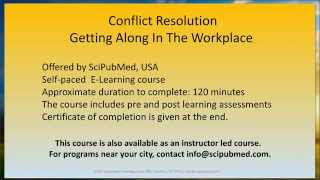 Conflict Resolution - SciPubMed.com