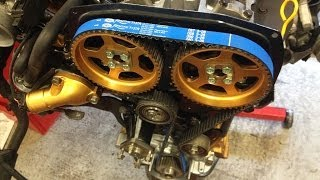 getlinkyoutube.com-Nissan 200sx Ca18det Rebuild