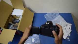 Unboxing CANON 700D / REBEL T5i India