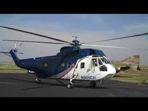 Sikorsky S-61 Take-off