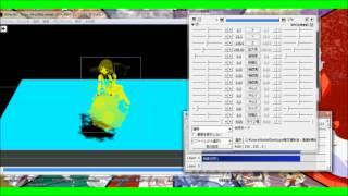 getlinkyoutube.com-AviUtlのカメラ制御を使い画像に影をつけてみた