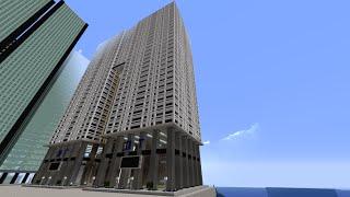 getlinkyoutube.com-[マインクラフト]O-tsuの都市開発part2超高層ビル