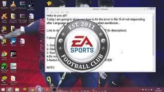 getlinkyoutube.com-Fifa 15 Language select crash fix on windows 8/8.1!!