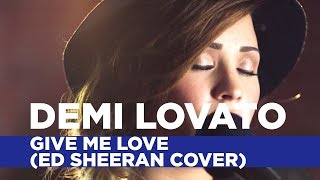 getlinkyoutube.com-Demi Lovato - Give Me Love (Ed Sheeran Cover) (Capital FM Session)
