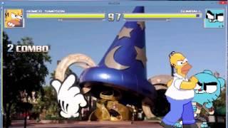 getlinkyoutube.com-M.U.G.E.N - Homer vs. Gumball