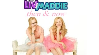 getlinkyoutube.com-Liv & Maddie Characters - Then &  Now
