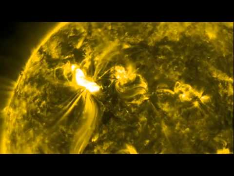 Sunspot 1429 Unleashes Two X-Class Flares & SOHO Captures CME From X5.4 Solar Flare WWW.GOODNEWS.WS