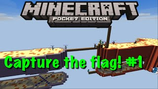getlinkyoutube.com-Minecraft Pocket Edition Capture the Flag #1 Carrying